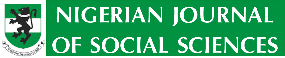 Nigerian Journal of Social Sciences