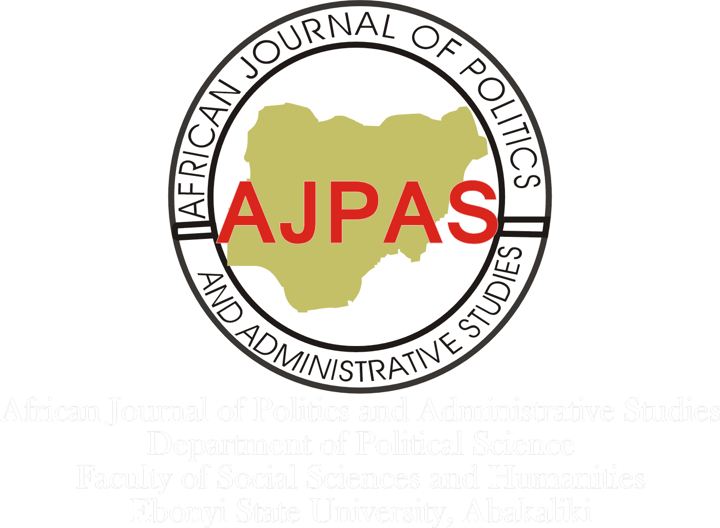 AFRICAN JOURNAL OF POLITICS AND ADMINISTRATIVE STUDIES