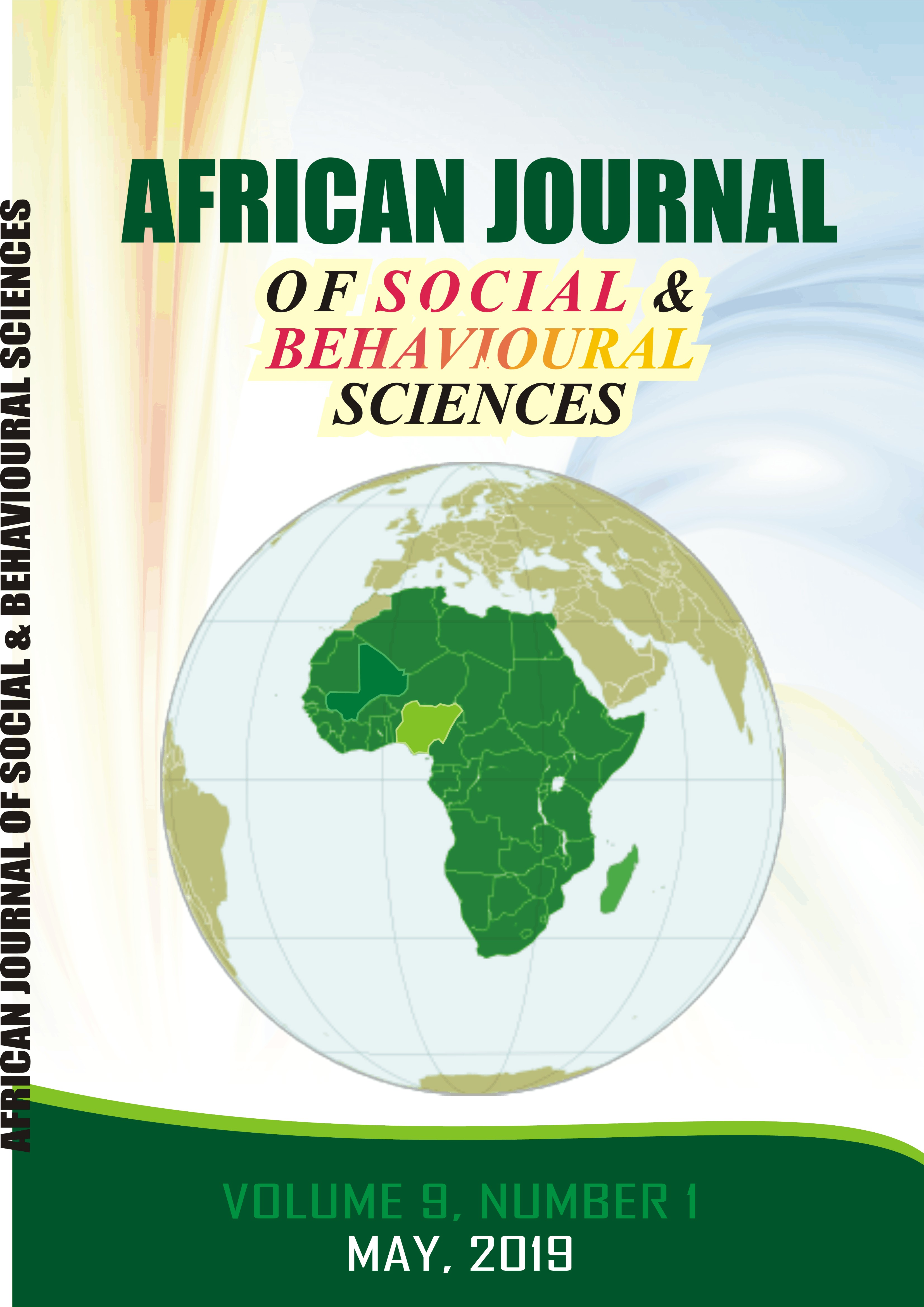 African Journal of Social & Behavioural Sciences
